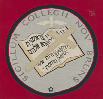 College of New Brunswick Seal, 1800