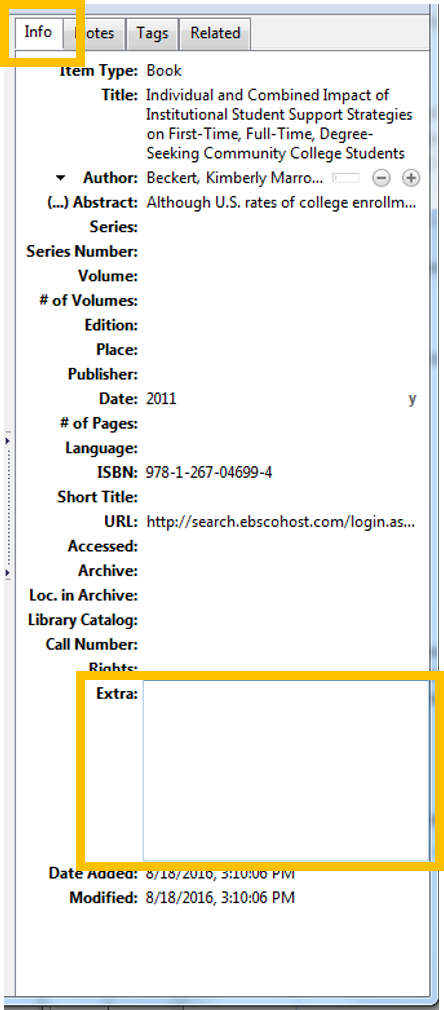 Citation   How To  Write an Annotated Bibliography   LibGuides at        Annotated Bibliography  Example